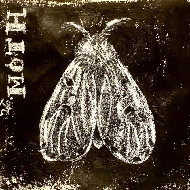 Inktober prompt: Moth