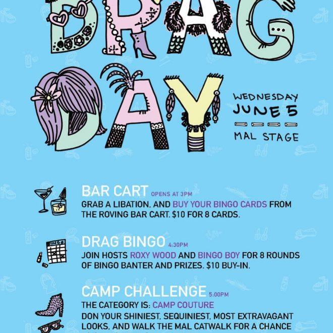 Full Drag Day Poster