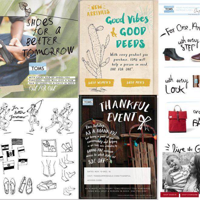 Design of marketing materials incorporating illustrations