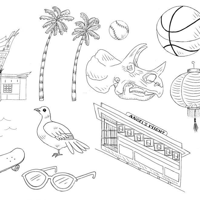 LA Landmarks: Set 3
