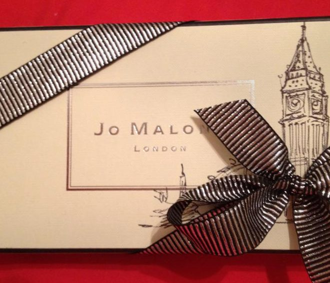 Jo Malone Holiday Illustrated Packaging