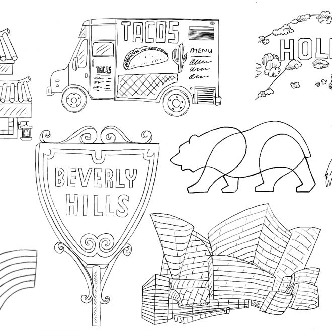LA Landmarks: Set 2