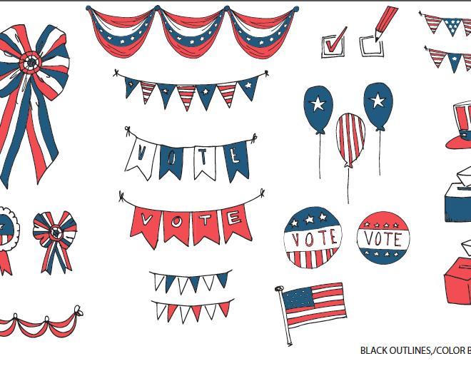Voting Illustrations
